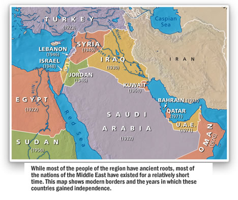 Map - Middle East